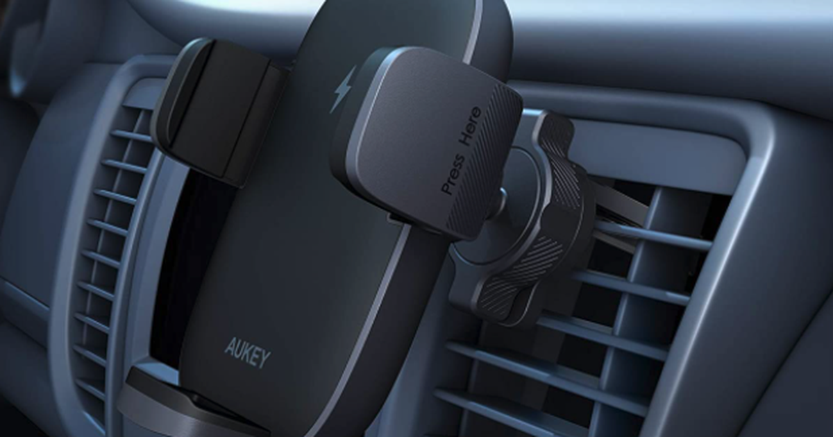 About A Latest Gadgets: AceFast Wireless Car Charger